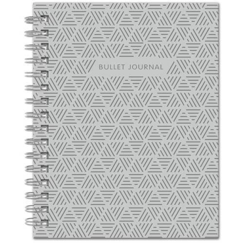 """Блокнот """"Bullet Journal"""", 60 листов, в точку, 16,2 х 21 см, серый"""