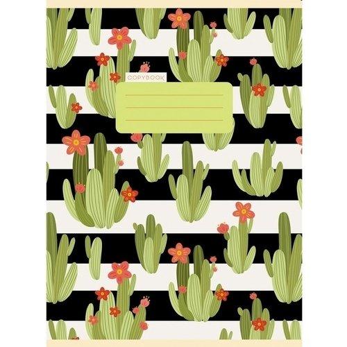 Тетрадь для конспектов Милые кактусы А4, 80 листов, в клетку ульяновский дом печати тетрадь 80 листов в клетку то 508