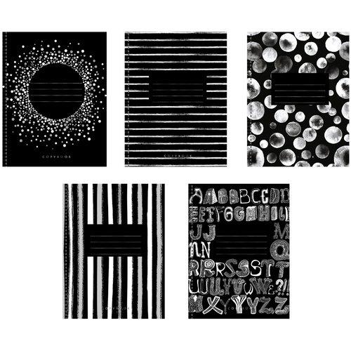 """Тетрадь """"Графичные оттенки"""" А5, 96 листов, в клетку, в ассортименте тетрадь magic lines багарт экзотик 96 листов в клетку 26863 5 шт"""