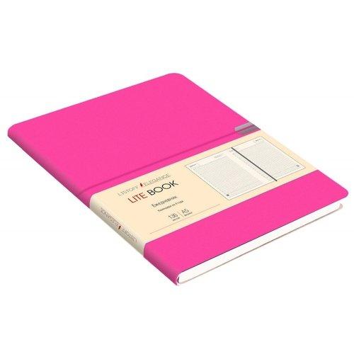 Ежедневник недатированный Lite Book А5, 136 листов, малиновый greenwich line ежедневник woodstock недатированный 136 листов цвет темно синий формат b6