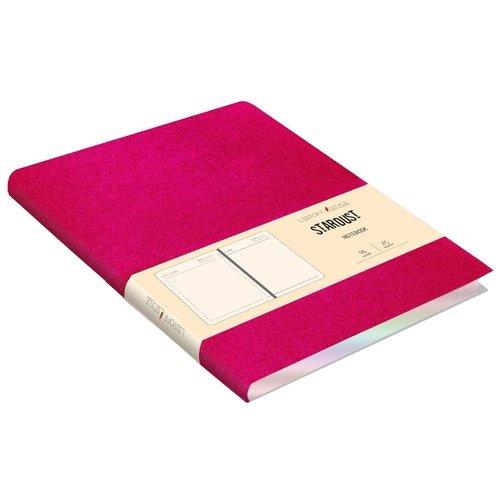 Ежедневник недатированный А5, 96 листов, фуксия