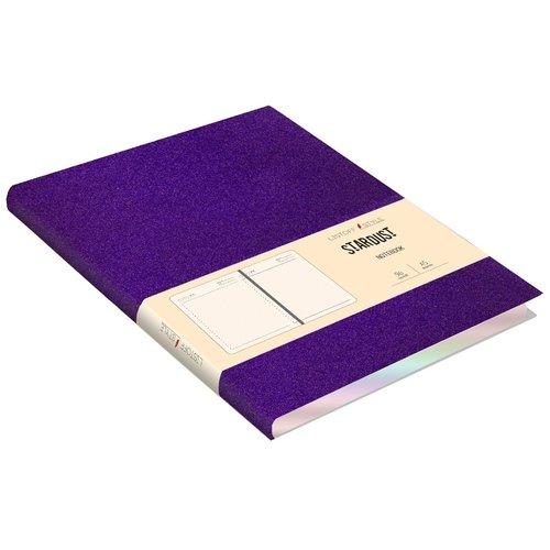 Ежедневник недатированный А5, 96 листов, фиолетовый стоимость