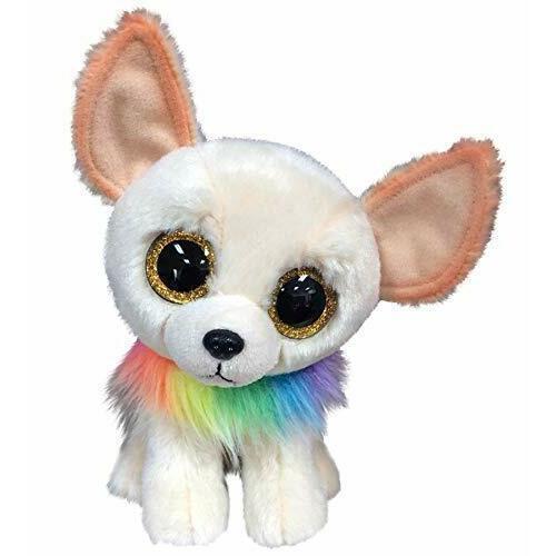 Купить Мягкая игрушка Чихуахуа 15 см, белая, Ty Inc., Мягкие игрушки