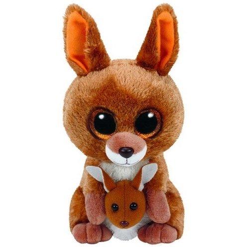 Мягкая игрушка Кенгуру Кипер 15 см, коричневый мягкие игрушки ty мягкая игрушка ty beanie boo s пудель rainbow 15 см