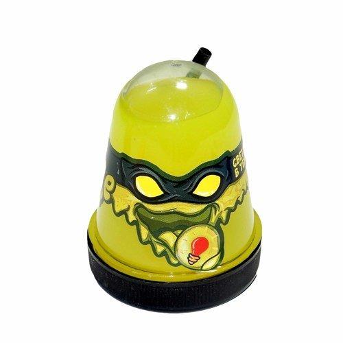 """Слайм """"Slime Ninja"""", светится в темноте, желтый, 130 г"""