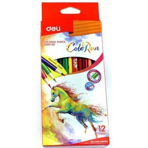 """Карандаши цветные """"ColoRun"""", 12 цветов"""