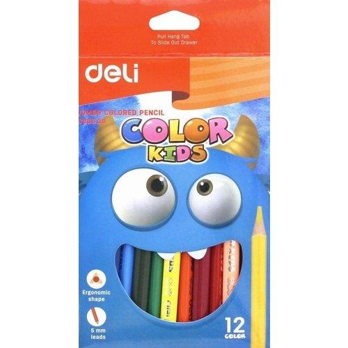 "Карандаши цветные ""Color Kids Jumbo"", 12 цветов"