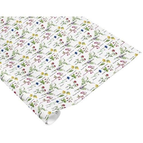 Бумага «Полевые цветы», 70 х 100 см