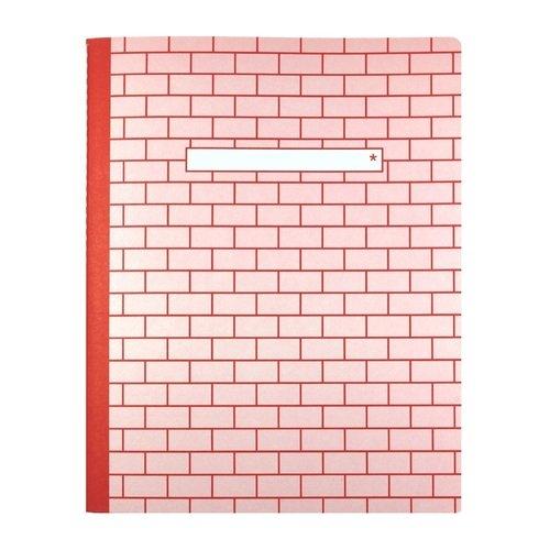 Тетрадь С5, 40 листов, в линейку, розовая