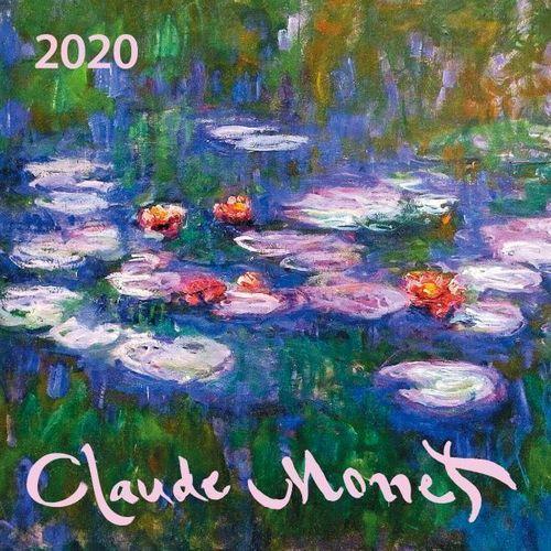 Календарь настенный на 2020 год Клод Моне, 17 х см