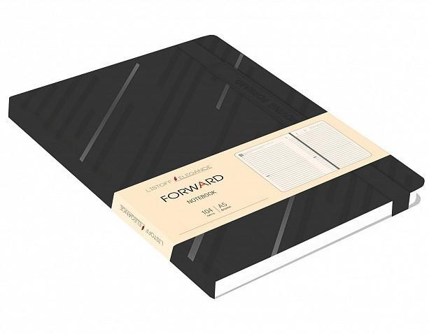 """Ежедневник недатированный """"Forward"""" А5, 104 листа бренда Эксмо – купить по цене 212 руб. в интернет-магазине Республика, 523956."""