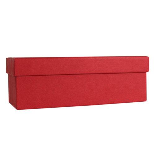 Коробка подарочная, 18 х 8 6,5 см, красная