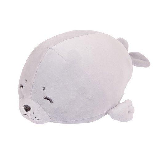 Купить Мягкая игрушка Морской котик , 27 см, серая, ABtoys, Мягкие игрушки