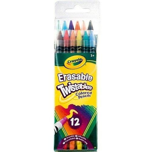 12 выкручивающихся карандашей crayola набор для творчества 40 выкручивающихся цветных карандашей crayola