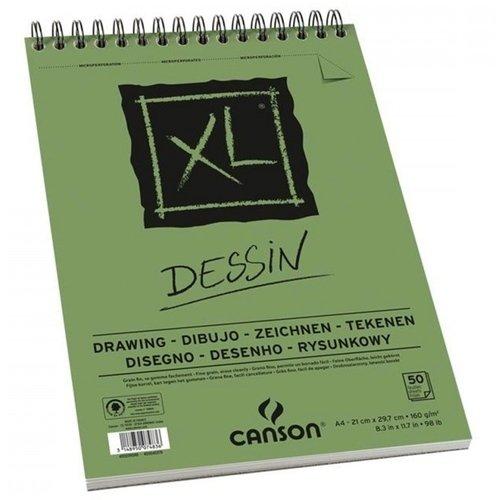 Альбом для графики XL Dessin A4, 50 л, 160 г/м2