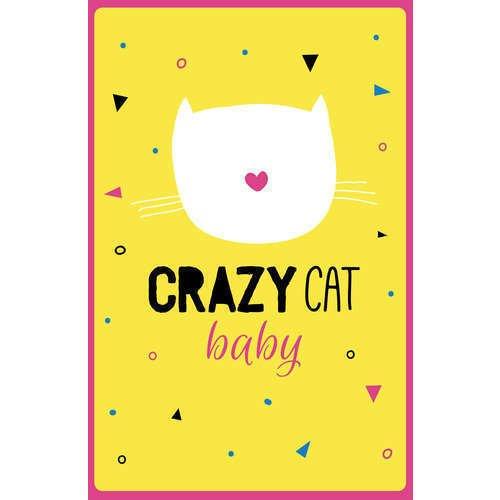 """Блокнот нелинованный """"Crazy cat baby"""" А5, 32 листа стоимость"""
