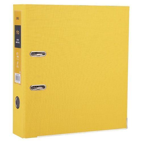 Папка-регистратор EB20150 , А4, 75 мм, желтая
