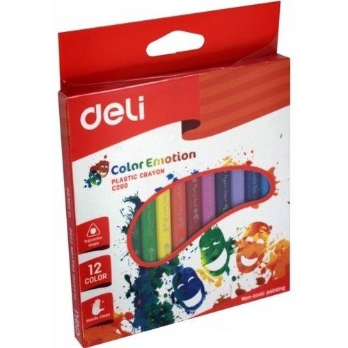 """Восковые мелки трехгранные """"Color Emotion"""", 12 цветов"""