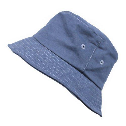 Панама Bucket Hat Cotton M, голубая панама bucket hat cotton l синяя