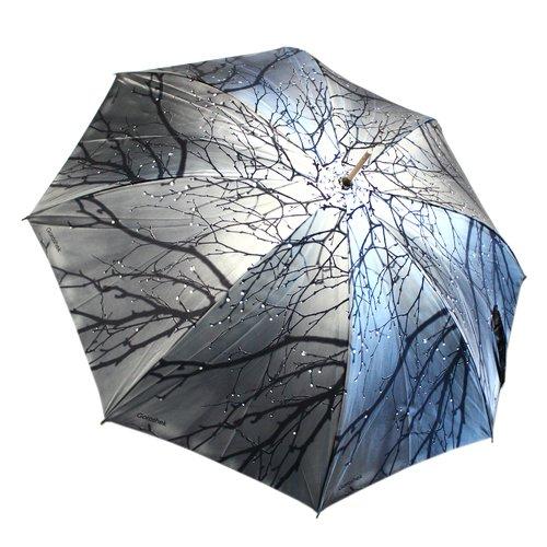 Зонт-трость женский 618144-5, полуавтомат