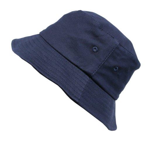 Панама Bucket Hat Cotton M, синяя панама bucket hat cotton l синяя