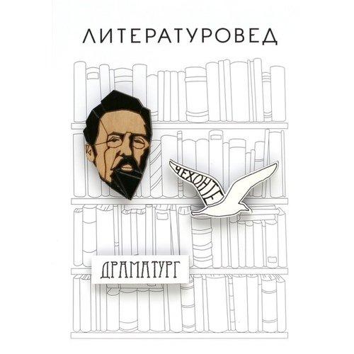 """Набор значков """"Чехов"""""""