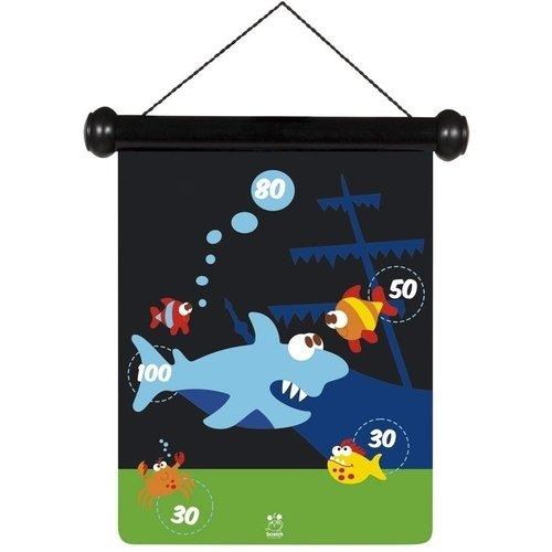 Игра Дартс Морская жизнь, 24 x 30 см игра алкогольный дартс с заданиями