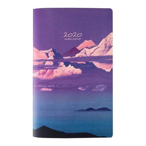 "Планер датированный на 2020 год ""Rerikh "", 32 листа, 13 х 21 см"