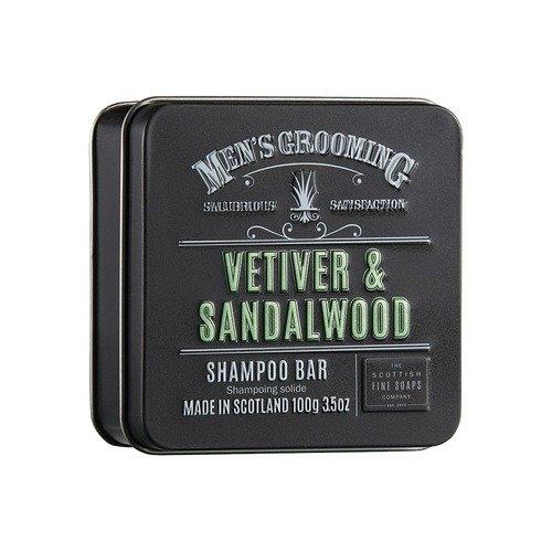 Мыло в жестяной коробочке Vetiver & Sandalwood, 100 г мыло ручной работы le blanc оливки в жестяной коробочке 100 г франция