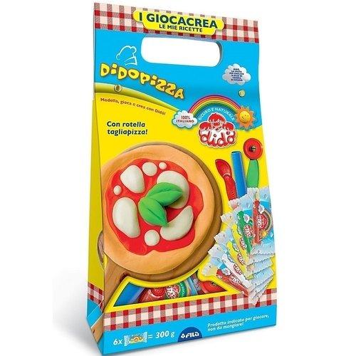 Набор для лепки Pizza масса для лепки dido кекс 6 цветов по 50 г 399100