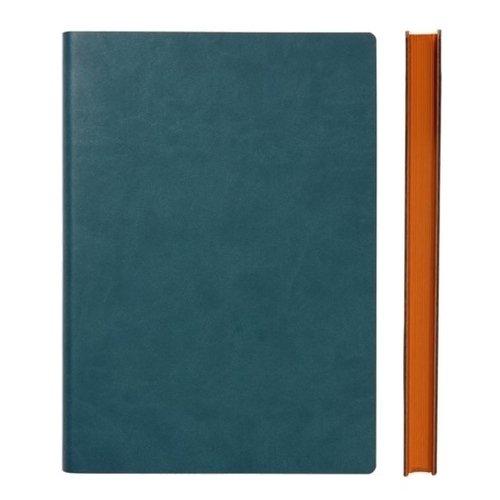 """Блокнот """"Signature Grid Notebook"""" A5, 88 листов, в клетку, зеленый"""