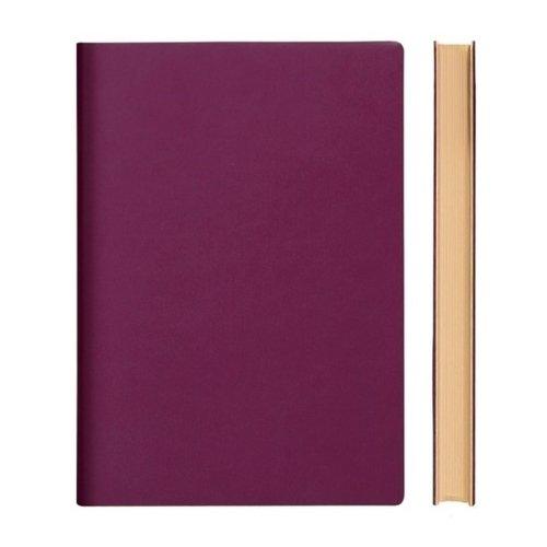 """Блокнот """"Signature Grid Notebook"""" A5, 88 листов, в клетку, малиновый"""