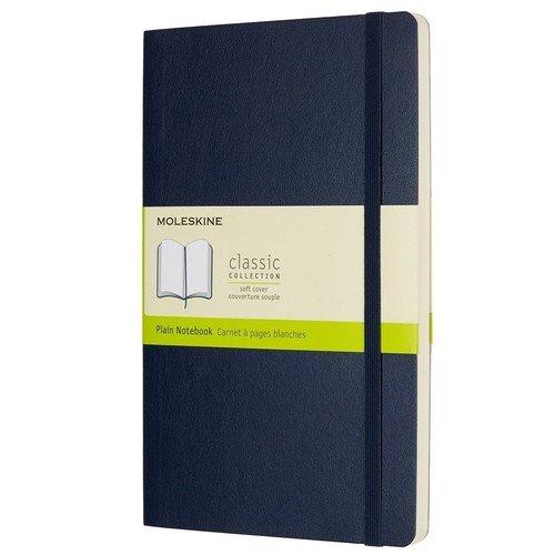 """Блокнот """"Classic"""" Large, 120 листов, нелинованный, синий"""