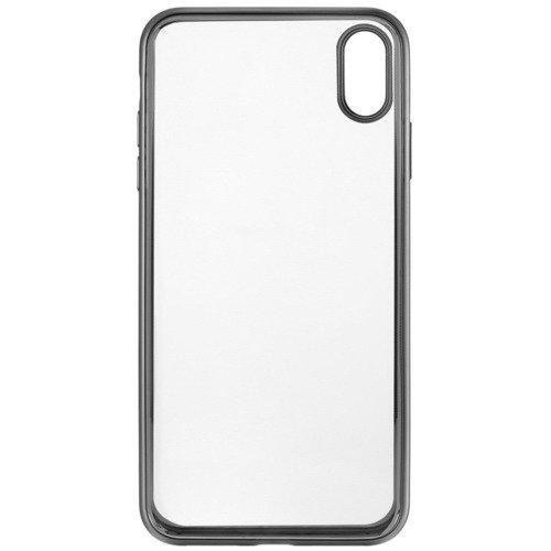 """Чехол защитный для iPhone XS Max """"Frame Case"""", серебристый"""