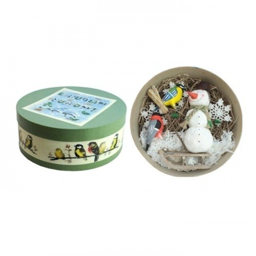 Подарочный набор Снеговик набор крем меда подарочный вкуснолето медовый сад 3 шт по 35 г