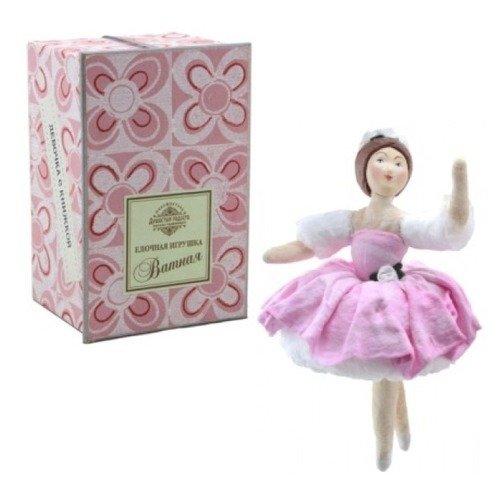 Коробка с ватной игрушкой малой Балерина