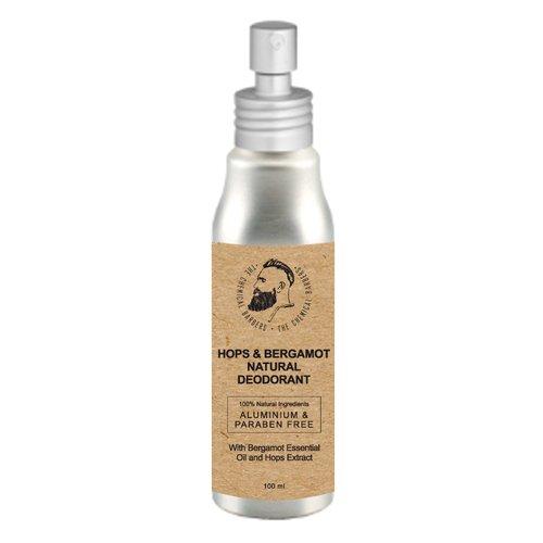 Дезодорант-спрей Hops & Bergamot Natural Deodorant, 100 мл