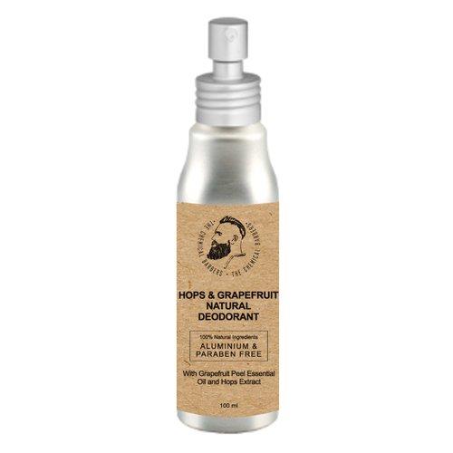 Дезодорант-спрей Hops & Grapefruit Natural Deodorant, 100 мл