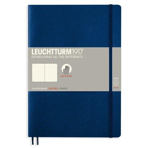 Записная книжка B5, в точку, синяя записная книжка np b5 x 160p 0001