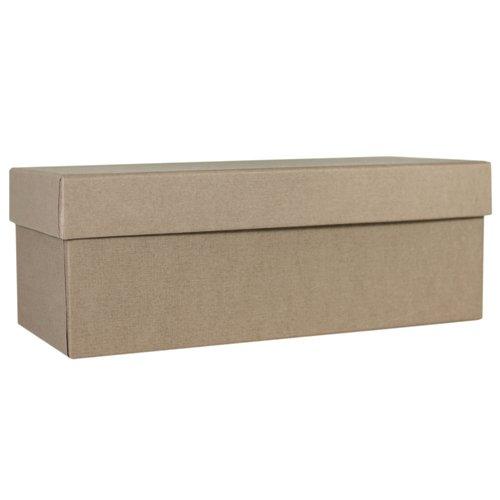 Коробка подарочная, 20 х 10 7,5 см, серая