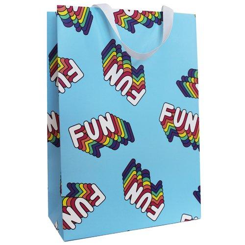 Пакет подарочный Fun Fun, 23 х 33 10 см