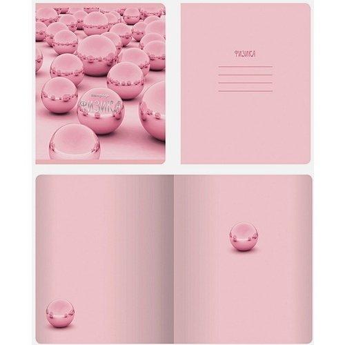 Тетрадь предметная Розовые мечты. Физика, 48 листов