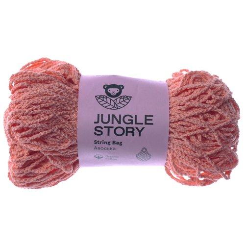 """Авоська """"String Bag"""" , персиково-морковная"""