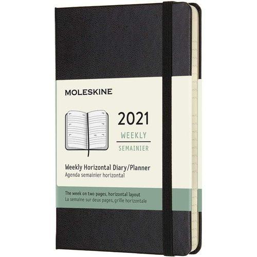"""Еженедельник """"Classic WKLY"""" Pocket, 144 страницы, черный"""