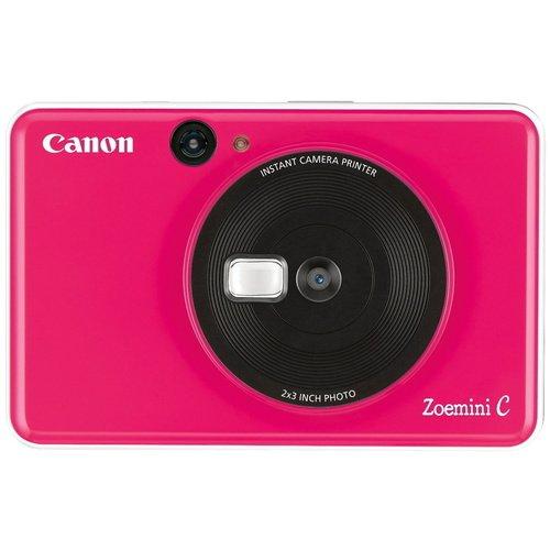Фото - Камера моментальной печати Canon Zoemini C, розовая фотоаппарат моментальной печати canon zoemini c цвет морской волны