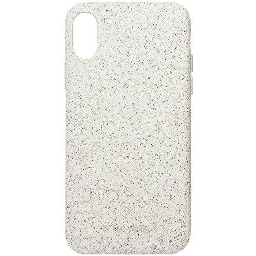 Биоразлагаемый чехол SOLOMA Case для iPhone X/XS, бледно-бежевый
