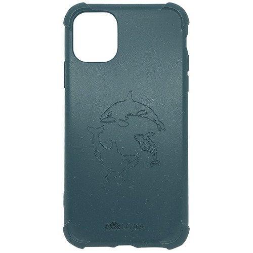 Биоразлагаемый чехол SOLOMA Case для iPhone 11 Pro с ударопрочными углами, светло-синий