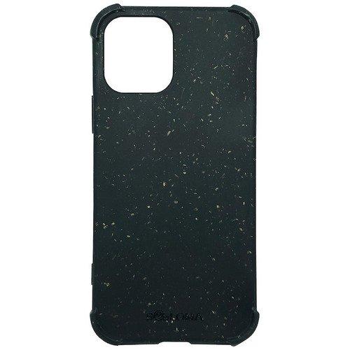 Чехол SOLOMA Case для iPhone 12 Mini с ударопрочными углами, биоразлагаемый, тёмно-серый