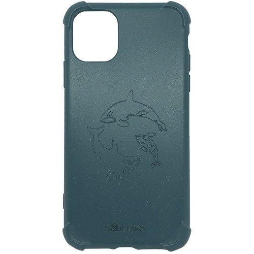 Биоразлагаемый чехол SOLOMA Case для iPhone 11 Pro Max с ударопрочными углами, светло-синий