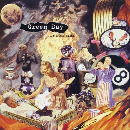 Виниловая пластинка Green Day - Insomniac